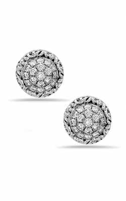 Charles Krypell White Diamond Pave Earrings 1-6944-SWHTP product image