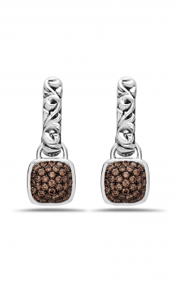 Charles Krypell Brown Diamond Pave Earrings 1-6948-SBRP product image