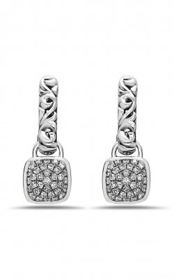 Charles Krypell White Diamond Pave Earrings 1-6948-SWHTP product image
