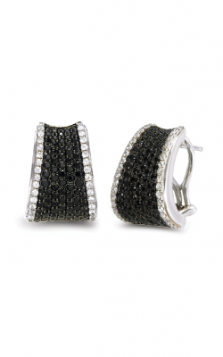 Charles Krypell Black Sapphire Pave Earrings 1-6806-SBSWS product image