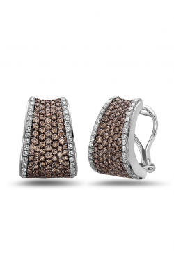 Charles Krypell Brown Diamond Pave Earrings 1-6806-SBRP product image