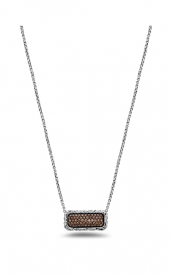 Charles Krypell Brown Diamond Pave Necklace 4-6977-SBRP product image