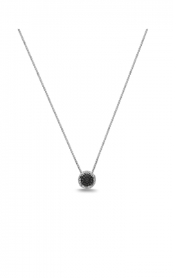 Charles Krypell Black Sapphire Pave Necklace 4-6944-SBS product image