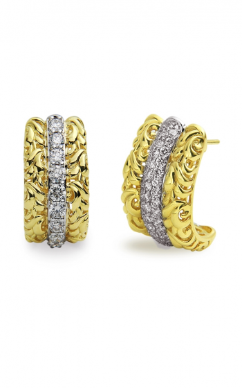 Charles Krypell Gold Earrings 1-3610-GD20 product image