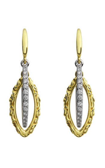 Charles Krypell Gold Earrings 1-3821-GD25 product image