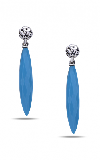 Charles Krypell Sterling Silver Earrings 1-6891-TQ product image