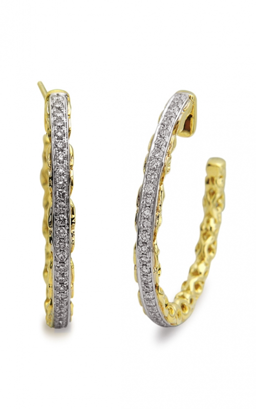Charles Krypell Gold Earrings 1-3623-GD product image