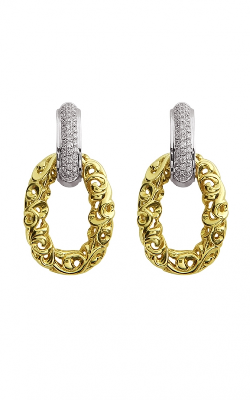 Charles Krypell Gold Earrings 1-3710-GD product image