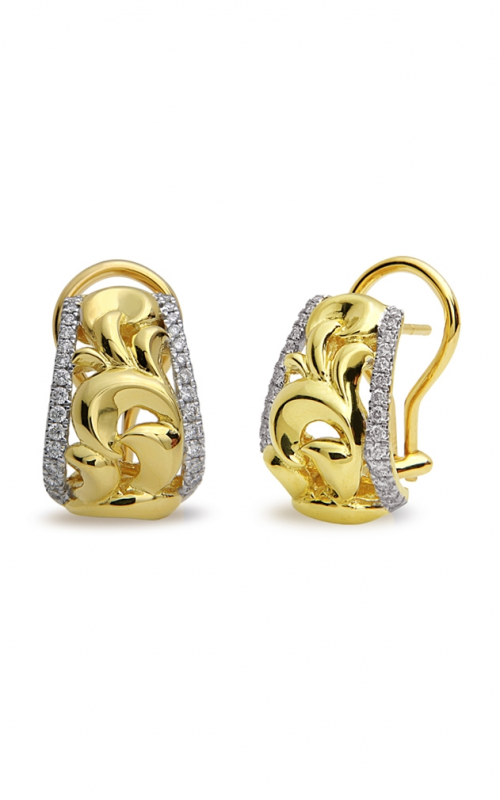 Charles Krypell Gold Earrings 1-3851-GD product image