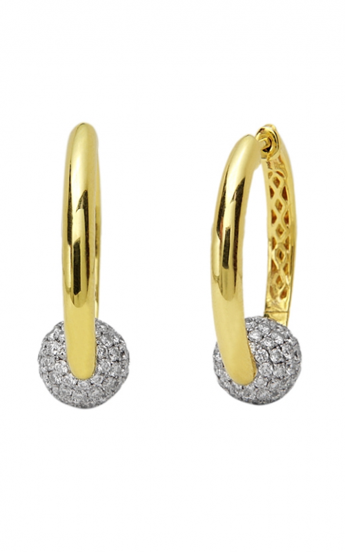 Charles Krypell Gold Earrings 1-3876-GD product image