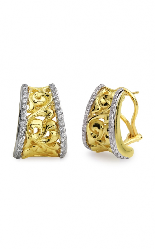 Charles Krypell Gold Earrings 1-3896-GD product image