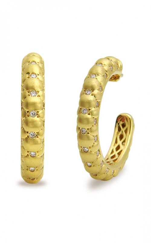 Charles Krypell Gold Earrings 1-3910-TFGD product image