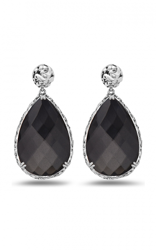 Charles Krypell Skye Hematite Earrings 1-6866-HEM product image