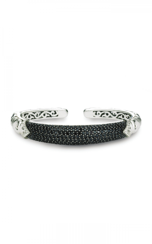 Charles Krypell Black and White Sapphire Pave Bracelet 5-6855-SBSWS product image
