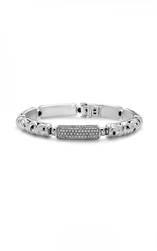 Charles Krypell White Diamond Pave Bracelet 5-6927-SWHTP product image