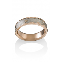 Chris Ploof Meteorite Wedding Band MT-ARCTURUS-DIA product image