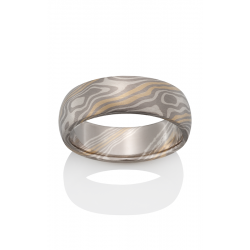 Chris Ploof Traditional Mokume Gane Wedding Band MG-BEECH-5YS product image