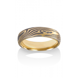 Chris Ploof Traditional Mokume Gane Wedding Band MG-MAPLE-MTY product image