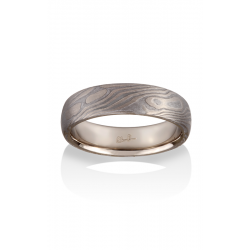 Chris Ploof Traditional Mokume Gane Wedding Band MG-MAPLE-MTW product image