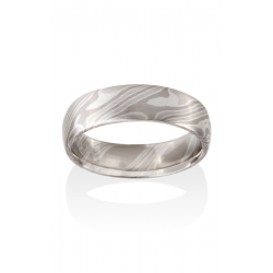 Chris Ploof Traditional Mokume Gane Wedding Band MG-ASH-PTWS product image
