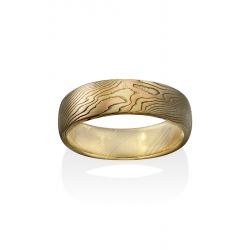 Chris Ploof Traditional Mokume Gane Wedding Band MG-OAK-YRS product image