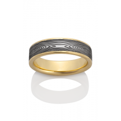 Chris Ploof Damascus Steel Wedding Band DS-INFINITY-CHAN product image