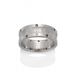 Chris Ploof Damascus Steel Wedding band DS-APOLLO product image