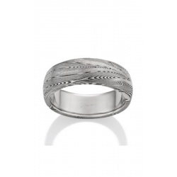 Chris Ploof Damascus Steel Wedding Band DS-SUPERNOVA-OX product image