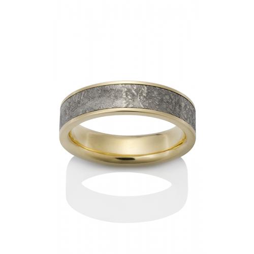 Chris Ploof Meteorite Wedding band MT-SIRIUS-Y product image