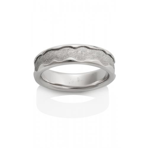 Chris Ploof Meteorite Wedding band MT-ARCTURUS-PT product image