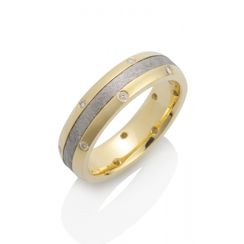 Chris Ploof Meteorite Wedding band MT-CANOPUS-14DIA product image