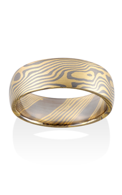 Chris Ploof Traditional Mokume Gane Ring MG-MAPLE-Y5 product image
