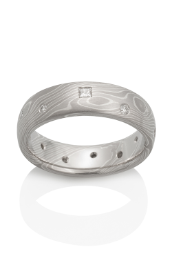 Chris Ploof Traditional Mokume Gane Ring MG-BIRCH-PWS-DIA product image