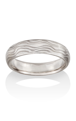 Chris Ploof Traditional Mokume Gane Ring MG-RIVER-WS product image