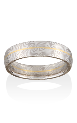 Chris Ploof Traditional Mokume Gane Ring MG-SPRUCE-WS-RAIL product image