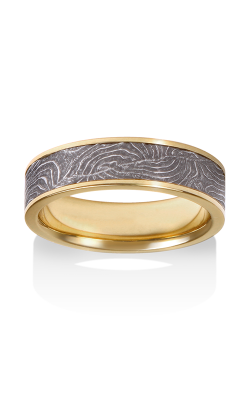 Chris Ploof Damascus Steel Ring DS-BARREL-CHAN-Y product image
