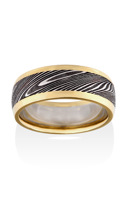 Chris Ploof Damascus Steel Ring DS-THOR-RAILS product image