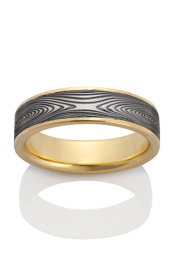 Chris Ploof Damascus Steel Ring DS-INFINITY-CHAN product image