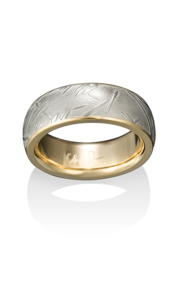 Chris Ploof Damascus Steel Ring DS-BAMBOO-CHAN product image