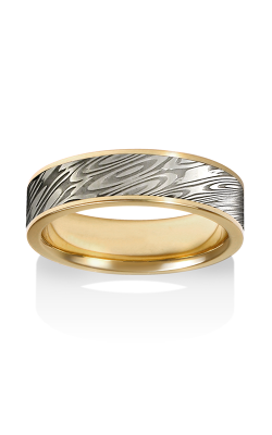 Chris Ploof Damascus Steel Ring DS-BINARY-CHAN product image