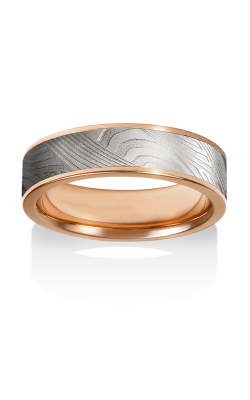 Chris Ploof Damascus Steel Ring DS-BREEZE-CHAN product image