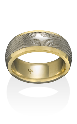 Chris Ploof Damascus Steel Ring DS-X-CHAN product image