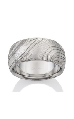 Chris Ploof Damascus Steal Ring DS-KONA-OX product image
