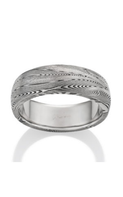 Chris Ploof Damascus Steel Ring DS-SUPERNOVA-OX product image