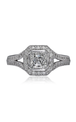 Christopher Designs Crisscut Asscher Engagement ring G54-ACC100 product image