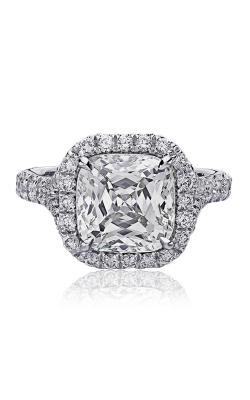 Christopher Designs Crisscut Cushion Engagement ring D100-CU400 product image