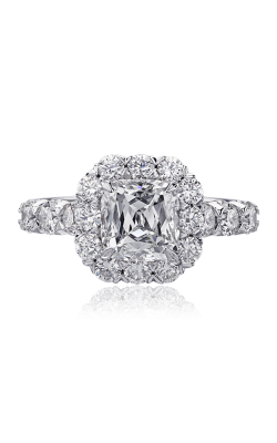 Christopher Designs Crisscut Cushion Engagement Ring G52-CU200 product image