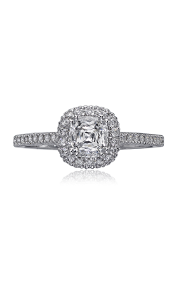 Christopher Designs Crisscut Cushion Engagement Ring G12A-CU075 product image