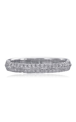 Christopher Design Crisscut Wedding Bands D63B product image