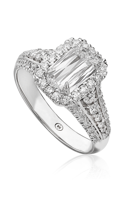 Christopher Designs Crisscut L'Amour Engagement Ring L126-100 product image